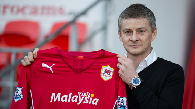Ole Gunnar Solskjaer named as Cardiff City manager - video