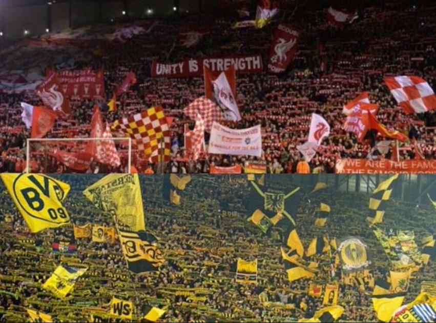 Kop vs Yellow wall