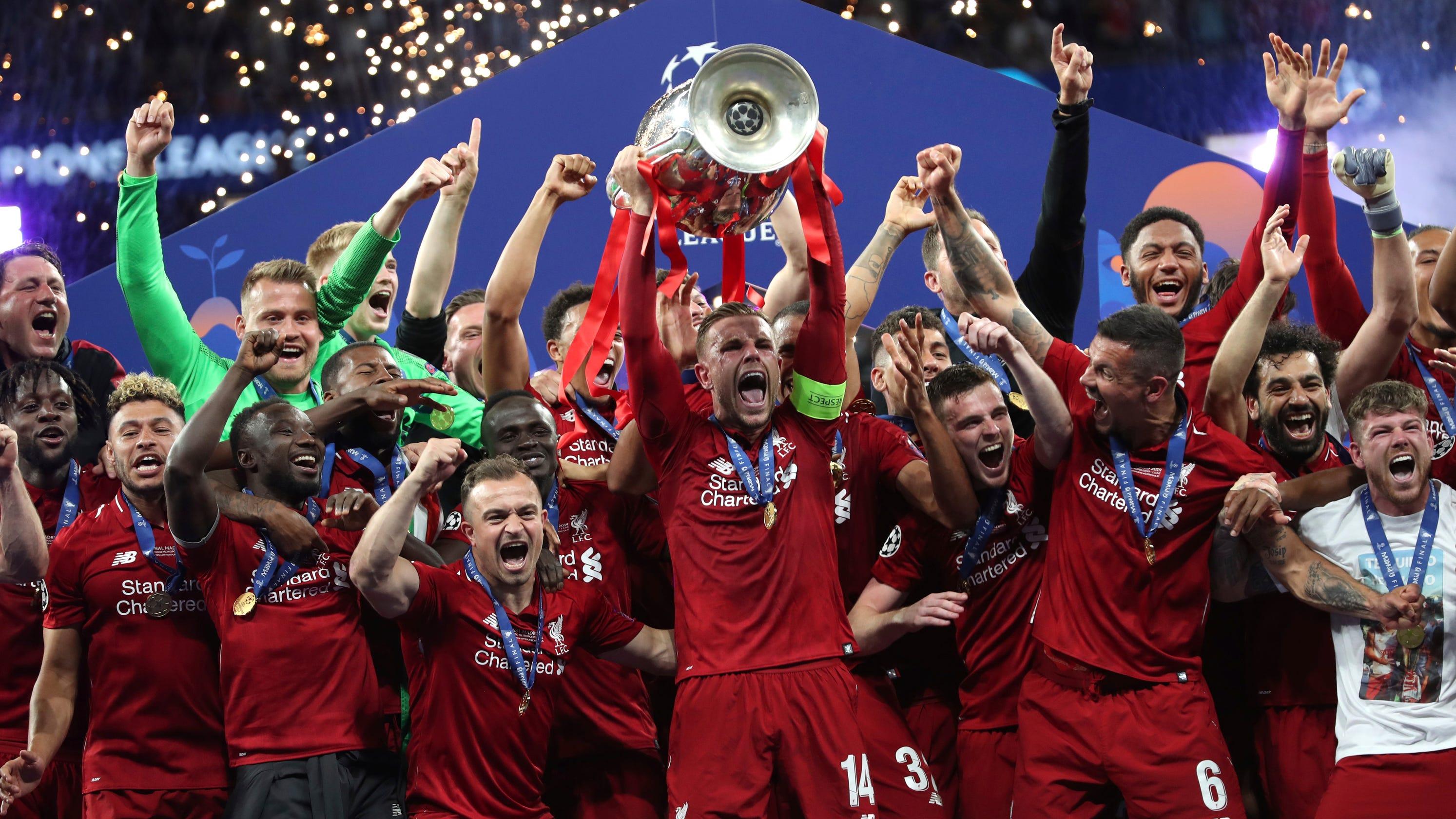 Liverpool FC eru Evrópumeistarar 2019